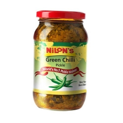 Nilons Premium Green Chilli Pickle 400g