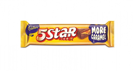 Cadbury 5 Star Chocolate Bar 40g