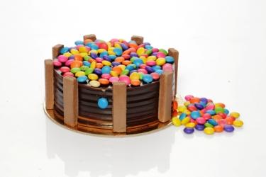 Chocolate Gems Cake 500g