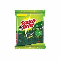 Scotch Brite Silver Sparks Scrub Pad 1pcs