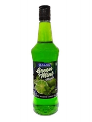 Malas Mocktail Flavoured Mojito Syrup Green Mint 750ml
