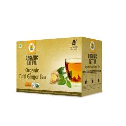Organic Tattva Tulsi Ginger Tea 20 Teabags 40g