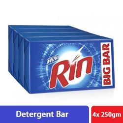 Rin Detergent Bar 4x250g