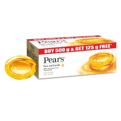 Pears Pure And Gentle Bathing Bar 125g Pack Of 5Pcs