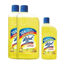 Lizol Citrus Disinfectant Surface Cleaner 975ml (B2G1 500ml)