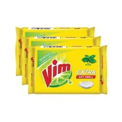Vim Anti Smell Bar 200g Pack of 3