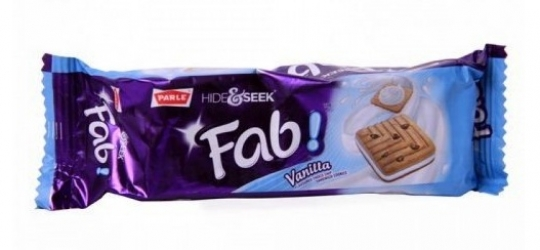 Parle Hide and Seek Fab Biscuit Strawberry 100g