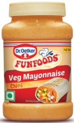 Funfoods Veg Mayonnaise Chilli 250G