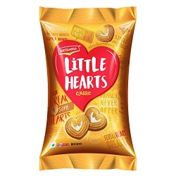Britannia Biscuit Little Hearts 75g