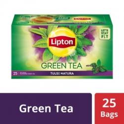 Lipton Tulsi Natura Green Tea Bags 25 Tea Bags