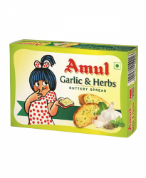 Amul Garlic & Herbs Butter 100g