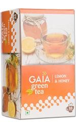 Gaia Lemon & Honey Green Tea 25 Tea Bags