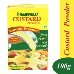Weikfield Custard Powder Vanilla 100g