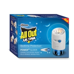 All Out Ultra Power+ Slider Refill With Machine 45ml