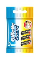 Gillette Manual Shaving Razor Blades Guard Cartridge 3pcs