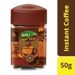 Bru Gold Instant Coffee Jar 50g