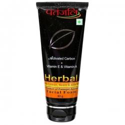 Patanjali Herbal Facial Foam 60g