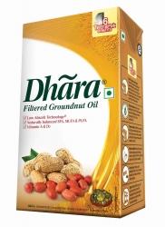 Dhara Groundnut Oil Tetra Pack 1ltr