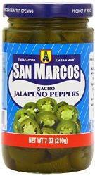 San Marcos Nacho Jalapeno Peppers 210g