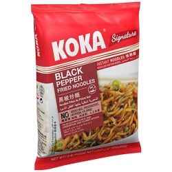 Koka Black Pepper Fries Noodles 85g
