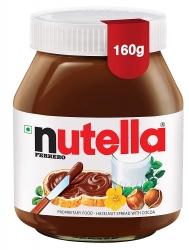 Nutella Ferrero Hazelnut Spread With Cocoa 160g