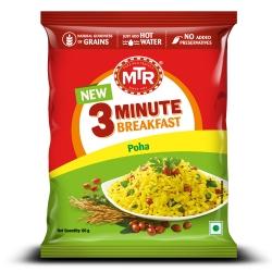 Mtr 3 Minute Breakfast Poha 60g