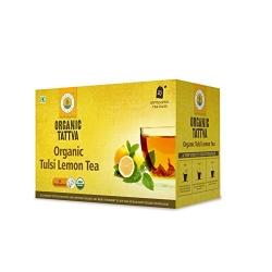 Organic Tattva Tulsi Lemon Tea 20 Teabags 40g