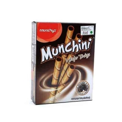 Munchys Munchini Chocolate Wafer Roll 100g