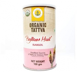 Organic Tattva Psyllium Husk 100g