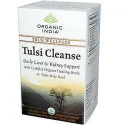 Organic India Tulsi Wellness Cleanse Tea 25 Tea Bags