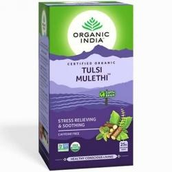 Organic India Tulsi Mulethi 25 Tea Bags