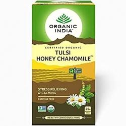 Organic India Tulsi Honey Chamomile 25 Tea Bags