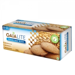 Gaia Cookies Lite Sugar Free Bites 200g