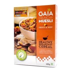 Gaia Crunchy Muesli Fruit & Nut 400g