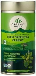 Organic India Tulsi Green Classic Tea 100g Tin