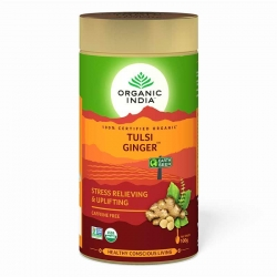 Organic India Tulsi Ginger Tea 100g