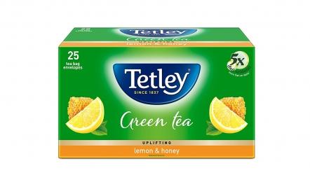 Tetley Green Tea Lemon and Honey 25 Tea Bags