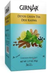 Girnar Detox Green Tea Desi Kahwa 36 Tea Bags