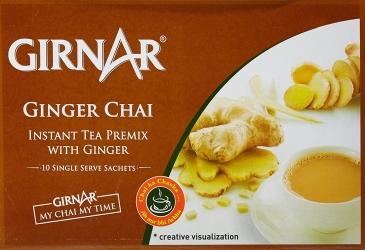 Girnar Instant Premix With Ginger 10 Sachets