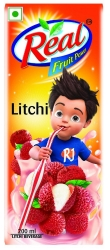 Real Fruit Power Litchi 200ml
