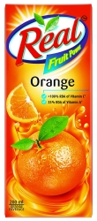 Real Orange Fruit Power 200ml