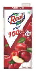 Real Activ 100 Apple Juice 1Ltr