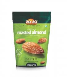 20-20 Divine Roasted Almond 200g