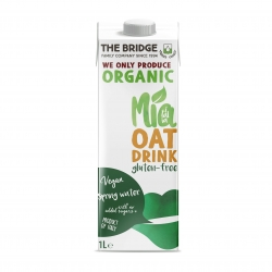 The Bridge Organic Gluten Free Oat Drink 1Ltr