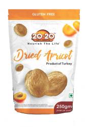 20-20 Dried Apricot Jumbo 250g