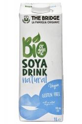 The Bridge Organic Gluten Free Soya Drink Natural 1Ltr
