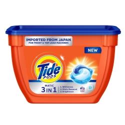 Tide Matic 3in1 Pods Liquid Detergent Pack 18 Count