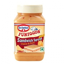 Funfoods Spread Cheese & Chilli 275g