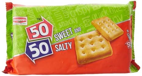 Britannia 50-50 Sweet & Salty Biscuits 200g