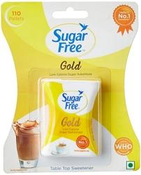 Sugar Free Gold Low Calorie Sweetner 110 Pellets